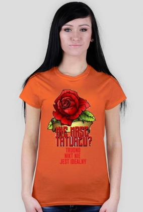 Koszulka Nie Masz Tatuażu? Trudno nikt nie jest idealny