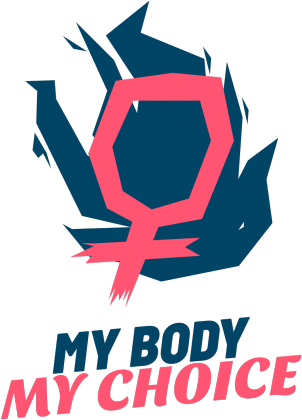 "Bluza ""My Body My Choice"""