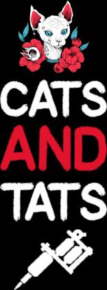 """Koszulka""""Cats and Tats"""""""