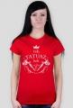 Koszulka Czarna Damska - Tak,Tatuaż Boli Bardzo