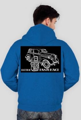Retro Pasjonaci - logo bluza