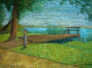 nad jeziorem - portfel