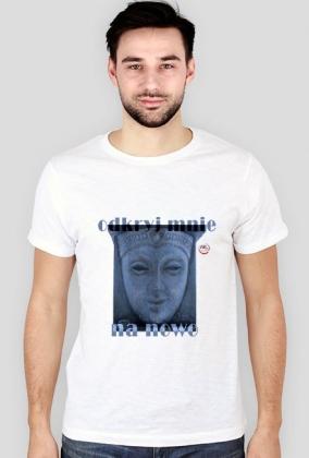 odkryj mnie na nowo - koszulka męska z rękawem