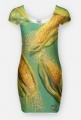 kukurydza - sukienka damska