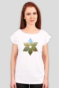 Pole w Kwiecie - koszulka damska