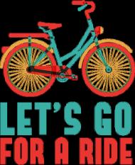 Let's Go For A Ride - koszulka męska