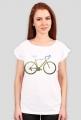 Rower Polny - koszulka damska