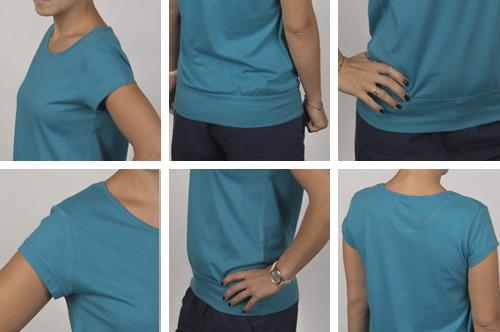 Zdjęcie rzeczywiste Koszulka damska (Pacyfka)