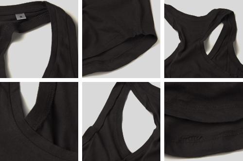 Zdjęcie rzeczywiste Koszulka damska na ramiączkach (Wzór ludowy)