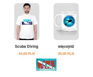 Koszulki Nurkowe