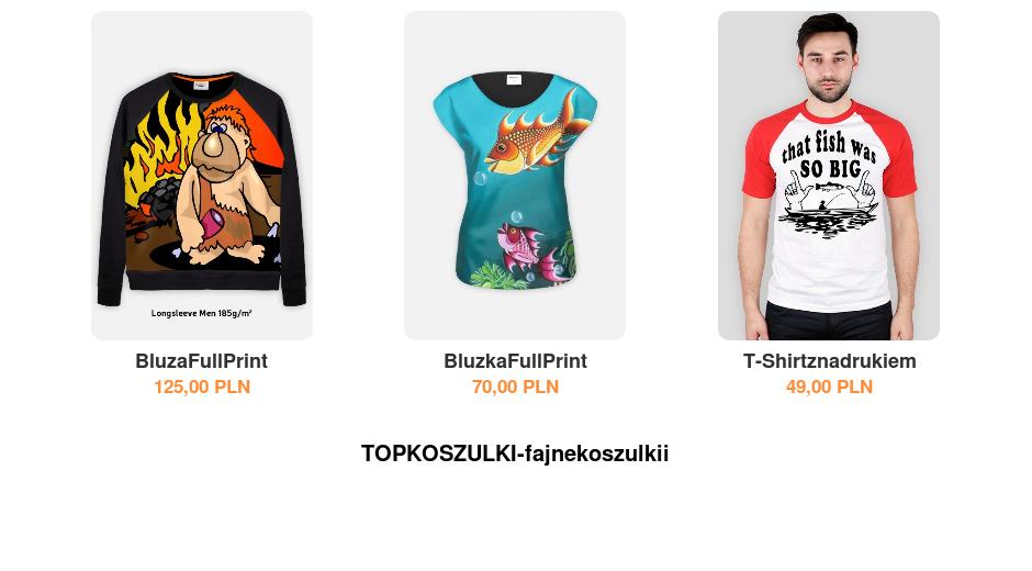 TOP KOSZULKI - fajne koszulki i gadżety z własnym nadrukiem