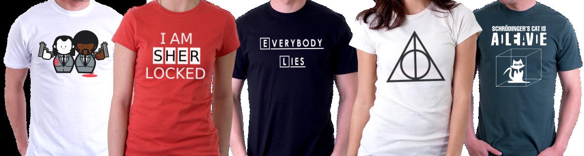 koszulki filmowe i serialowe