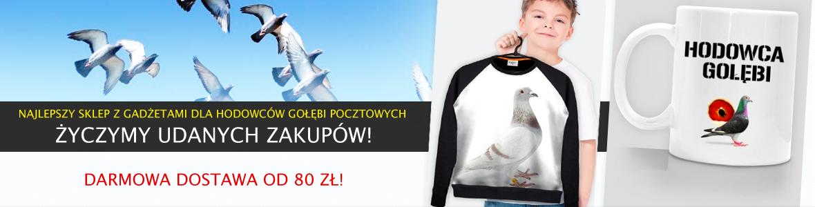 Gołębie-Sklep - Odzież i gadżety dla hodowców gołębi!