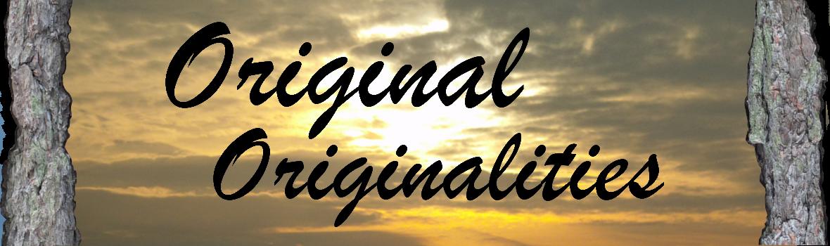 Original Originalities