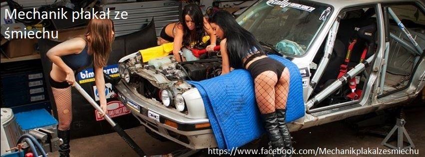 Mechanik płakał ze śmiechu