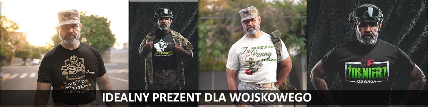 Prezent dla Żołnierza. Prezent dla Wojskowego. Koszulka