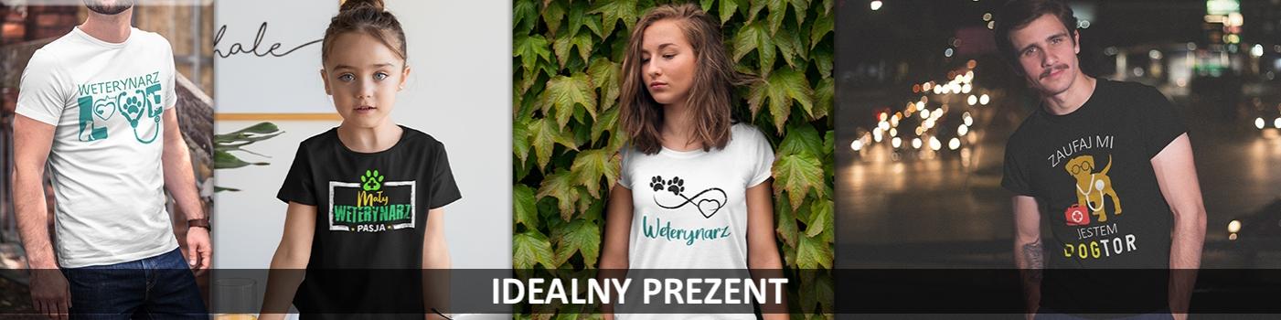 Prezenty dla Weterynarzy. Koszulka dla Weterynarza. Weterynarz.