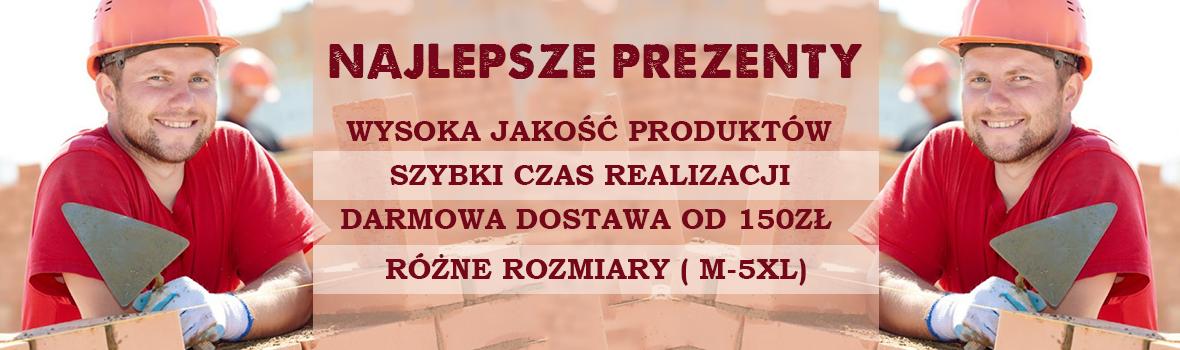Prezenty dla Murarzy, Budowlańców, Operatorów