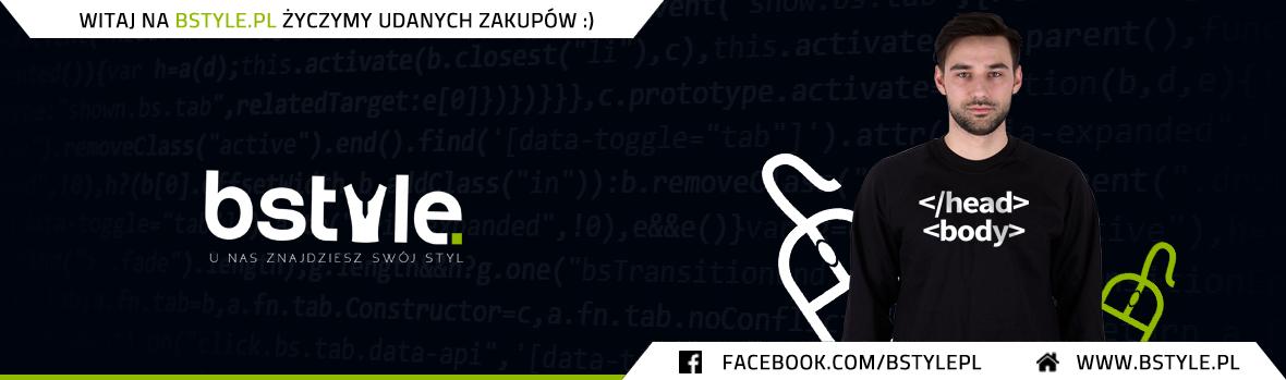Koszulki dla informatyków, bluzy, kubki, gadżety z nadrukiem - html - dla programisty - grafik -  BStyle.pl