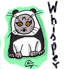 Komiks kotka Whisper