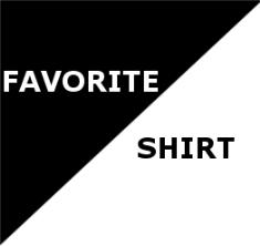 Favorite Shirt