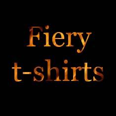 Fiery t-shirts